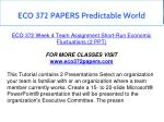 eco 372 papers predictable world 4