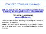eco 372 tutor predictable world 9