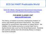 eco 561 mart predictable world 27