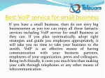 best voip service for small business if you have