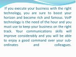 if you execute your business with the right