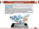 engaging your customers with mobile apps @ webcrayons biz
