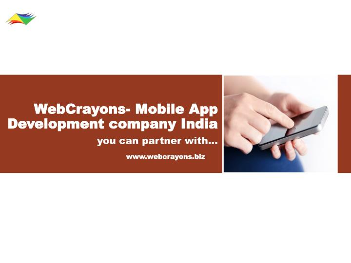webcrayons mobile app development company india n.