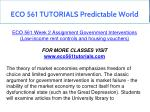 eco 561 tutorials predictable world 27