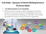 cody emsky importance of internet marketing services in the recent market 2