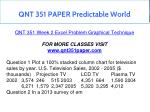qnt 351 paper predictable world 2
