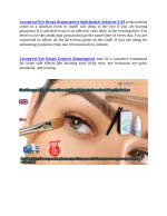 careprost eye drops bimatoprost ophthalmic
