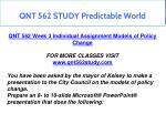 qnt 562 study predictable world 3