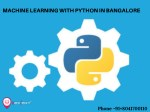 machine learning with python in bangalore