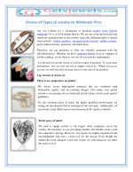 choose all types of jewelry on wholesale price