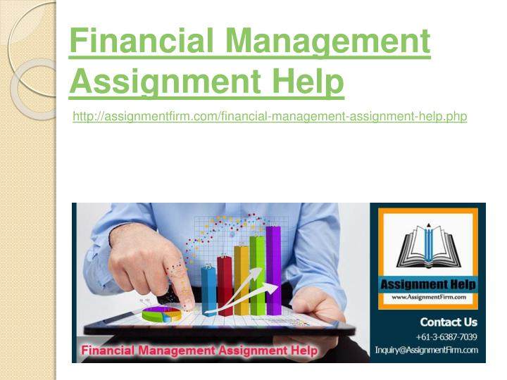 financial management assignment help n.