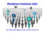 wordpress freelancer india 1