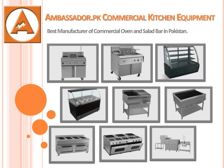 ambassador pk commercial kitchen equipment n.