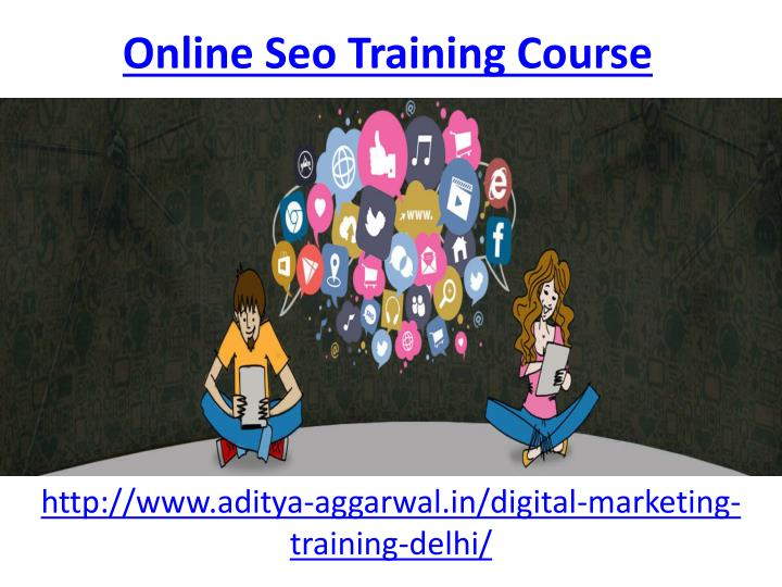 online seo training course n.