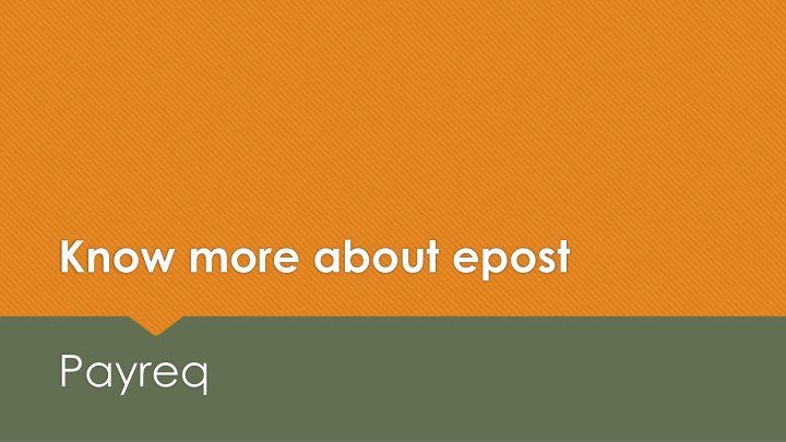 know more about epost n.