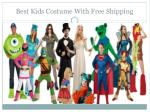 best kids costume with free shipping