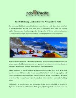 finest of relaxing leh ladakh tour packages from