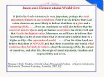 iman asas elemen utama worldview it belief
