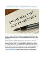 probate in los angeles county explains power