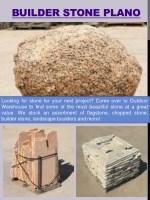 builder stone plano