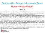 best vacation rentals in pensacola beach 1