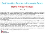 best vacation rentals in pensacola beach home 1