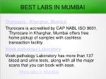 best labs in mumbai