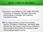best labs in mumbai