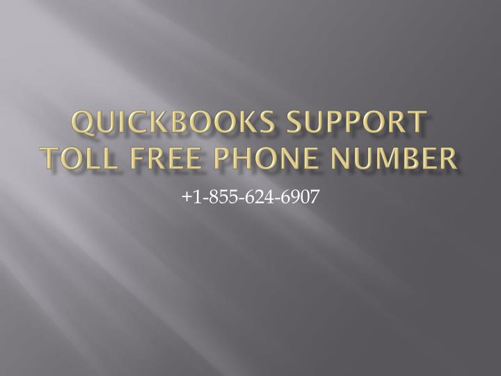quickbooks support toll free phone number n.