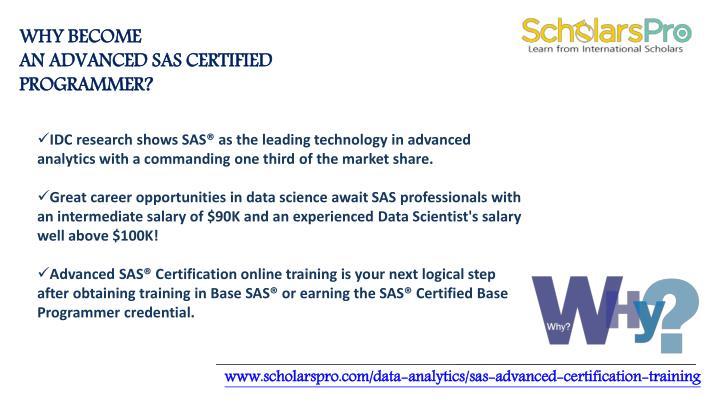 PPT - Advance sas certification | Base sas certification PowerPoint ...