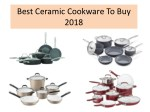 best ceramic cookware to buy 2018