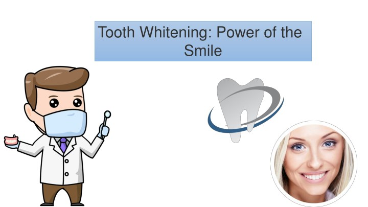 tooth whitening power of the smile n.