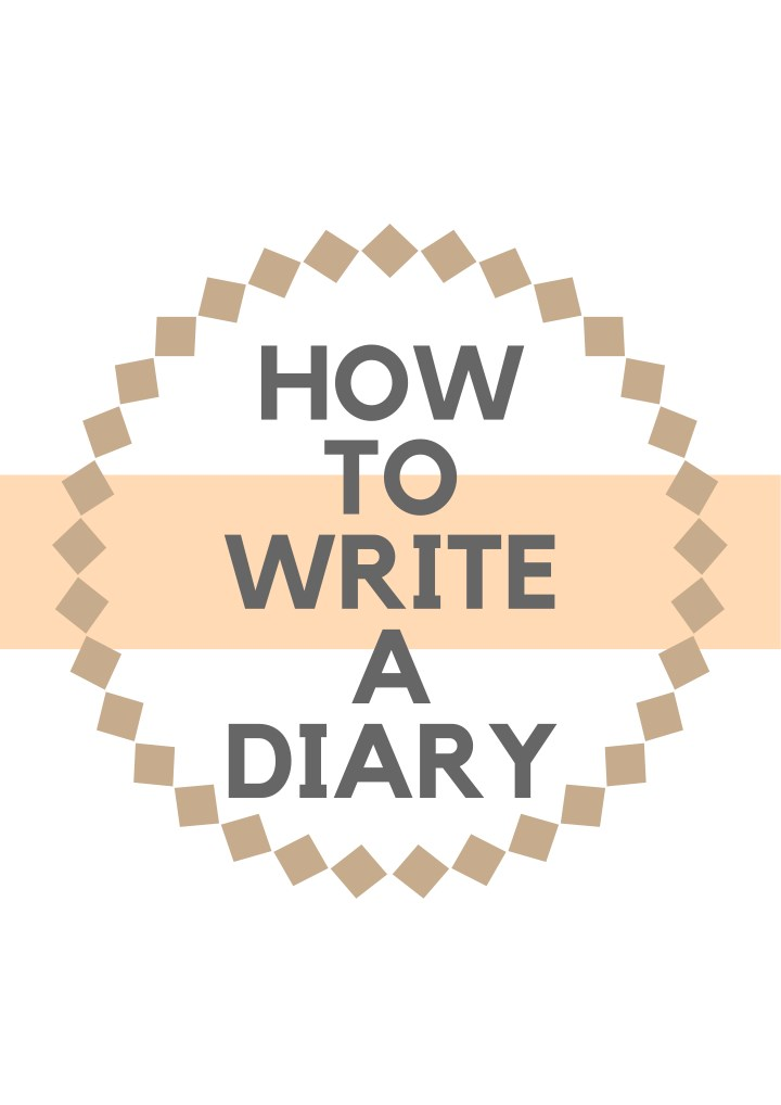 how to write a diary n.