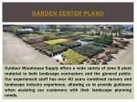 garden center plano