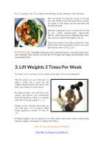 eat 2 3 meals per day if you find yourself hungry