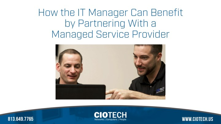 how the it manager can benefit by partnering with n.