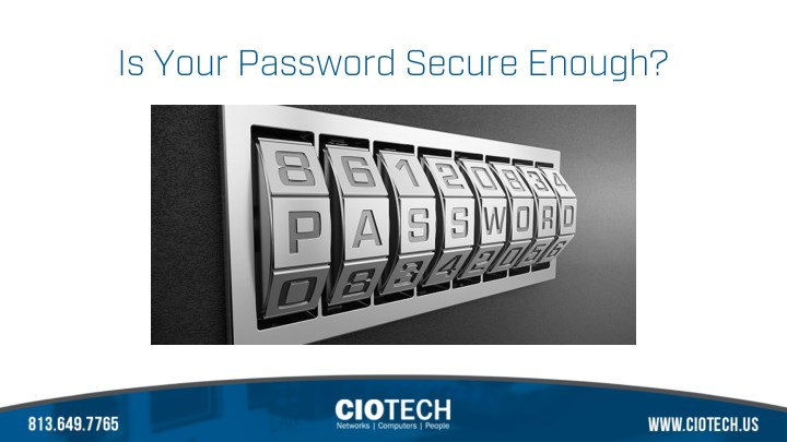 is your password secure enough n.