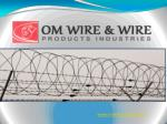 www omwireproducts com