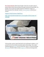 shri vinayak industries offer talcum powder