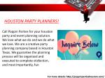 houston party planners 1