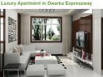 luxury apartment in dwarka expressway