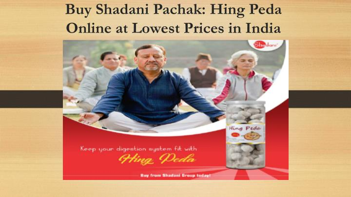 buy shadani pachak hing peda online at lowest prices in india n.