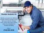 plumber anaheim ca reliable prompt cost effective