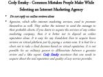 cody emsky common mistakes people make while selecting an internet marketing agency 4