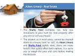adam umerji real estate
