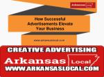 how successful advertisements elevate your business
