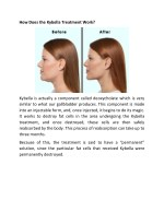 how does the kybella treatment work