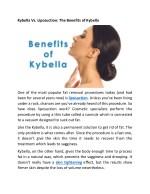 kybella vs liposuction the benefits of kybella