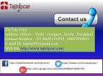 taj trip cara address offices delhi gurgaon noida