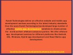 kunsh technologies deliver an effective website